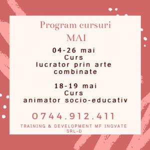 Read more about the article Cursuri luna MAI 2019